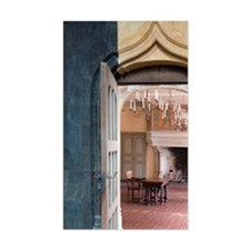 Interior of the Chateau of Cha Decal