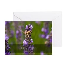Oversized Calendar-Bee and Pollinato Greeting Card