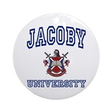 JACOBY University Ornament (Round)