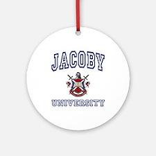 JACOBY University Ornament (Round)