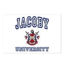 JACOBY University Postcards (Package of 8)