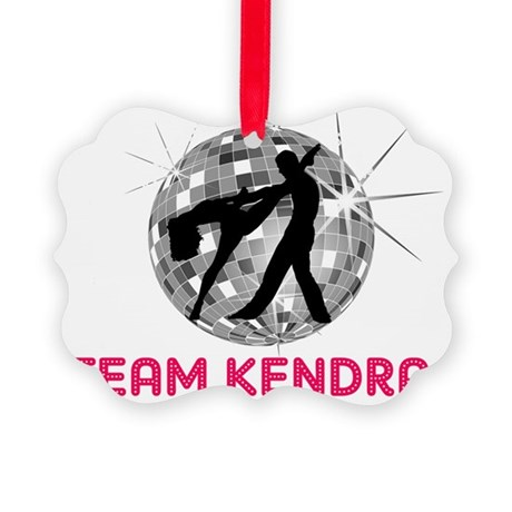 dancingwiththestars4 Picture Ornament