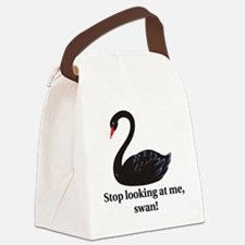 swan Canvas Lunch Bag