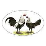 Birchen OE Pair Oval Sticker