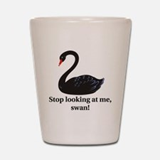 swan Shot Glass