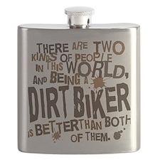 dirtbikerbrown Flask