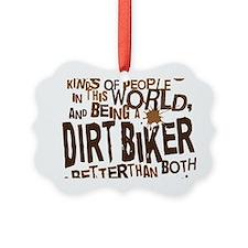 dirtbikerbrown Ornament