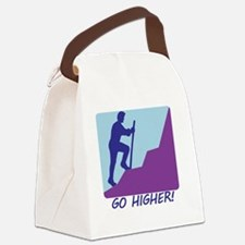 3Go Higher.eps Canvas Lunch Bag