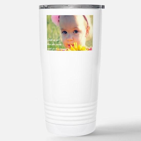 Adoption1 Stainless Steel Travel Mug