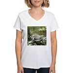 porcupine 2 Women's V-Neck T-Shirt