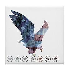 Beck_eagle_republican shirt_Beck Tile Coaster