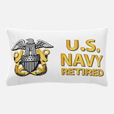 U.S. Navy Retired Pillow Case