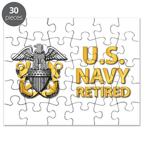 U.S. Navy Retired Puzzle
