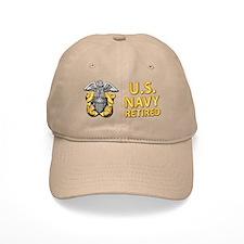 U.S. Navy Retired Cap