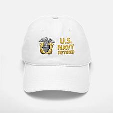 U.S. Navy Retired Baseball Baseball Cap