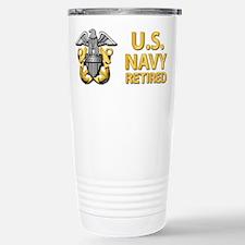 U.S. Navy Retired Travel Mug