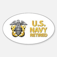 U.S. Navy Retired Decal