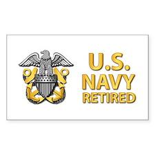 U.S. Navy Retired Decal