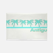 Cute Antigua and barbuda Rectangle Magnet
