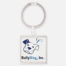 BullyWag, Inc Square Keychain