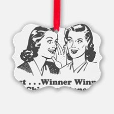 winnerwinner Ornament