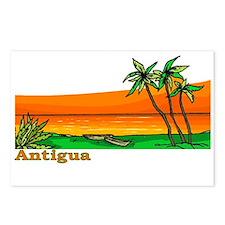 Unique Antigua barbuda Postcards (Package of 8)