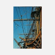 hms victory Rectangle Magnet