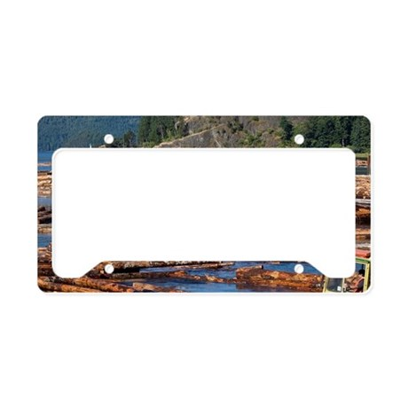 Vancouver Island License Plate Holder