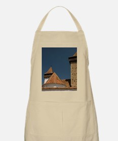 Romanic church from 13 cent. modified in 15  Apron