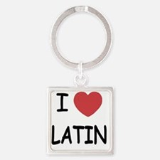 LATIN Square Keychain