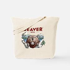 BeaverBeer_Shirt_1 Tote Bag