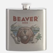BeaverBeer_Shirt_1 Flask