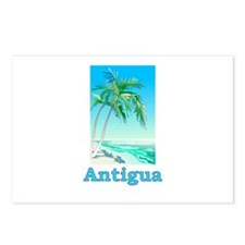 Funny Antigua barbuda Postcards (Package of 8)