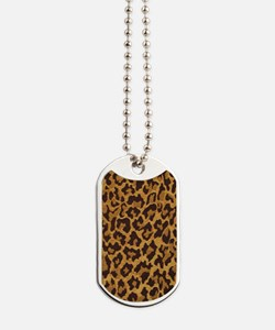 leopardkindlesleevetemplate Dog Tags