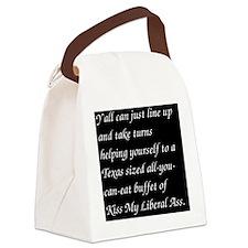 liberalass Canvas Lunch Bag