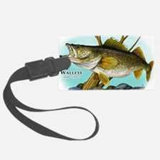 Walleye Luggage Tag