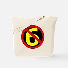 AntiSixersLogo Tote Bag