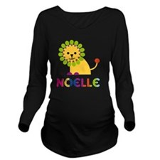 Noelle-the-lion Long Sleeve Maternity T-Shirt