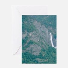 Sognefjord; Southern,Fjord, Vic, Nor Greeting Card