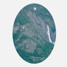 Sognefjord; Southern,Fjord, Vic, Nor Oval Ornament