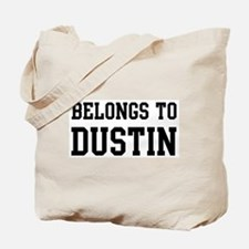 Belongs to Dustin Tote Bag