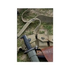 American weapons, 66th Anniversar Rectangle Magnet