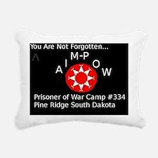 aimpowflag Rectangular Canvas Pillow