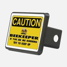 Caution Beekeeper Men Hitch Cover