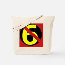 AntiSixersLogo4round Tote Bag