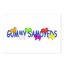 Gummy Samoyeds Postcards (Package of 8)