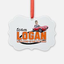 Team Logan Ornament