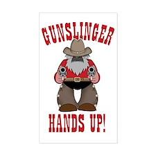 Gunslinger Poster Decal
