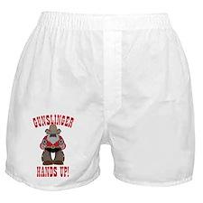 Gunslinger Poster Boxer Shorts