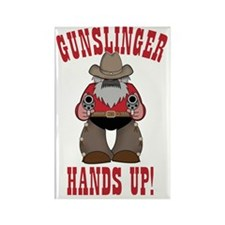 Gunslinger Poster Rectangle Magnet